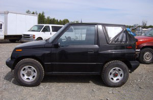 Geo Tracker Parts