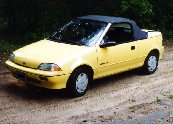 Geo Metro LSi Convertible Pictures