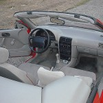 1992 Geo Metro LSi convertible (Interior View)