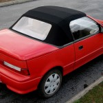 Geo Metro Convertible (With the Top Up)