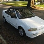 Geo Metro Convertible (With the Top Up - Front View)
