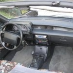 1991 Geo Metro LSi convertible (Interior View)