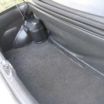 1991 Geo Metro LSi convertible (Trunk View)