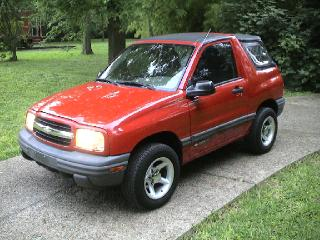 Chevy Tracker Auto Parts